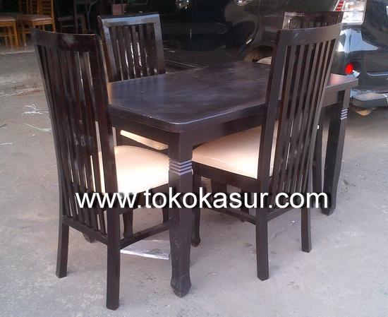 Meja Makan Kursi Makan Dining Table Toko Furniture Simpati